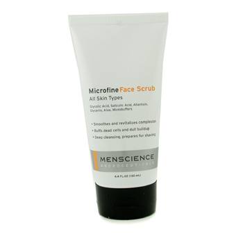 buy Menscience Microfine Face Scrub 130ml/4.4oz  skin care shop