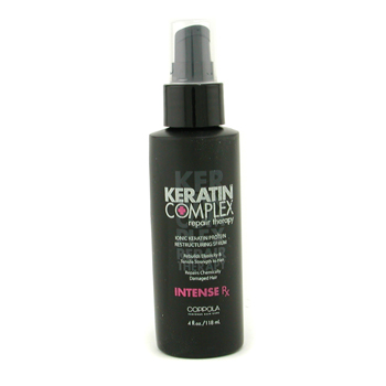 buy Keratin Complex Intense RX Ionic Keratin Protein Restructuring Serum (Unable to ship to Australia & New Zealand) 118ml/4oz by Keratin Complex skin care shop