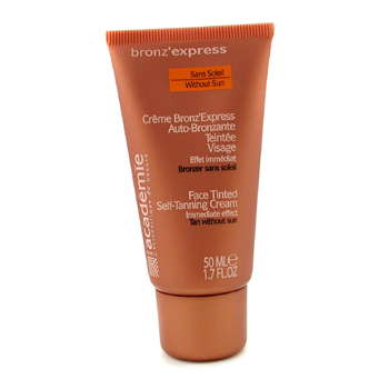 Academie Bronz Express Face Tinted Self Tanning Cream SPF 4 5ml 1.7oz