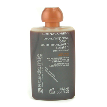 Academie Bronz` Express Face and Body Tinted Self-Tanning Lotion ( Unboxed ) 100ml/3.33oz
