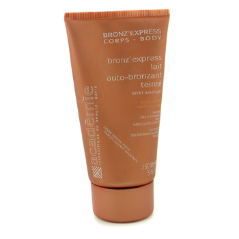 Academie Bronz` Express Body Tinted Self-Tanning Milk ( Unboxed ) 150ml/5oz