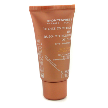 Academie Bronz` Express Face Tinted Self-Tanning Gel ( Unboxed ) 50ml/1.7oz