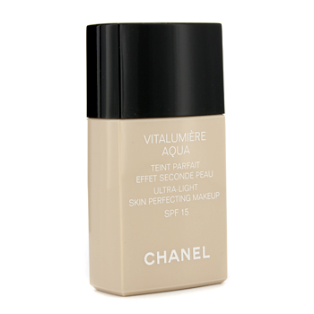 buy Chanel Vitalumiere Aqua Ultra Light Skin Perfecting Make Up SFP 15 - # B50 Beige Sienne 30ml/1oz  skin care shop