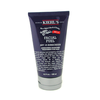 Para a pele do homem, Kiehl's, Kiehl's Facial Fuel SPF 15 Sunscreen Energizing Moisture Treatment 125ml/4.2oz