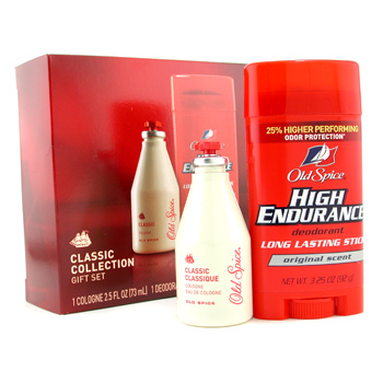 Old Spice Classic Collection: Cologne 73ml/2.5oz + Deodorant Stick 92g/3.25oz 2pcs