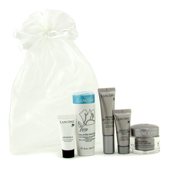 Travel Set: Cleansing Fluid, Renergie Lift Cream, Renergie Lift Serum, Renergie Lift Eye Cream, Genifique
