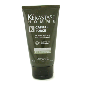 Cuidados com o cabelo, Kerastase, Kerastase Gel  fixador Homme Capital Force Sculpting Fixing 150ml/5.1oz