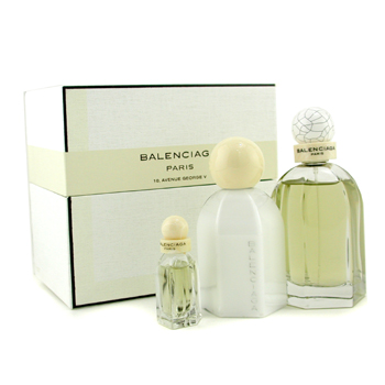 Balenciaga Balenciaga Coffret: Eau De Parfum Spray 75ml/2.5oz+ Body Lotion 100ml/3.4oz + Miniature 7.5ml/0.25oz 3pcs