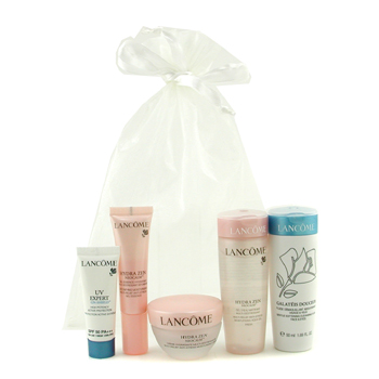 Hydrazen Travel Set: Galateis Douceur, UV Expert, Aqua Gel, Essence, Moisturising Cream