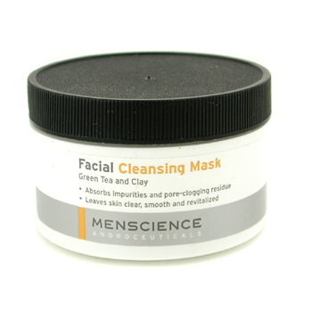 buy Menscience Facial Cleaning Mask - Green Tea And Clay 90g/3oz  skin care shop