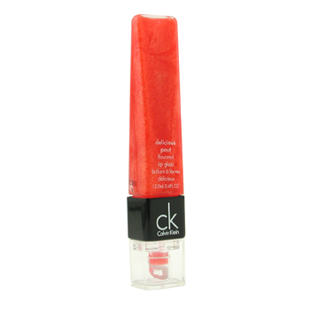buy Calvin Klein Delicious Pout Flavored Lip Gloss - # LG21 Tangerine Shimmer (Unboxed) 12ml/0.4oz  skin care shop