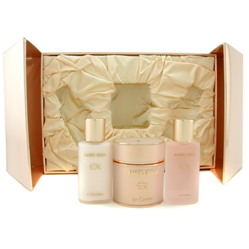 buy Kanebo Sensai Ex La Creme Set (Prestige Edition II): La Creme + La Lotion + L'Emulsion 3pcs  skin care shop