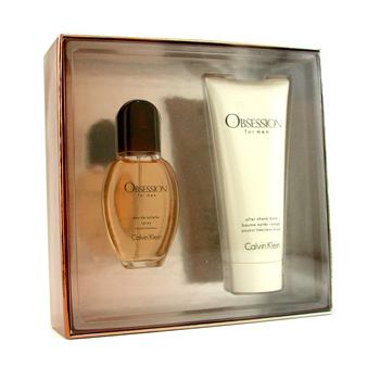 buy Calvin Klein Obsession Coffret: Eau De Toilette Spray 30ml/1oz + After Shave Balm 100ml/3.4oz 2pcs  skin care shop