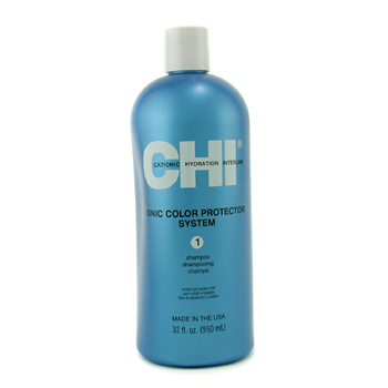 buy CHI Ionic Color Protector System 1 Shampoo 950ml/32oz by CHI skin care shop