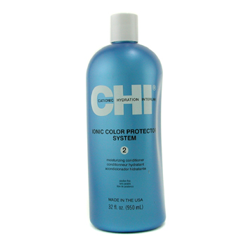 buy CHI Ionic Color Protector System 2 Moisturizing Conditioner 950ml/32oz by CHI skin care shop