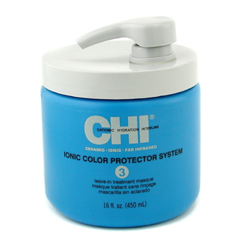 buy CHI Ionic Color Protector System 3 Leave In Treatment Masque 450ml/16oz by CHI skin care shop
