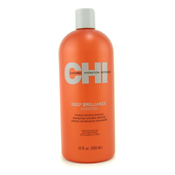 buy CHI Deep Brilliance Hydration Moisture Binding Shampoo 950ml/32oz by CHI skin care shop