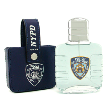 buy NYPD For Him Eau De Toilette Spray (with Leather Bag) 100ml/3.3oz  skin care shop