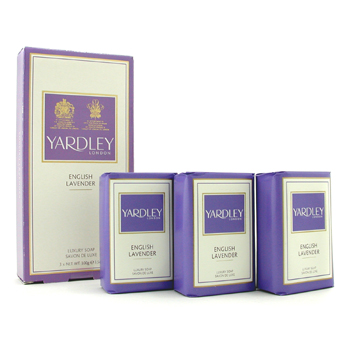 buy Yardley English Lavender Luxury Soap 3x100g/3.5oz  skin care shop