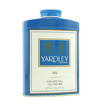 buy Yardley Iris Pefrumed Talc 200g/7oz  skin care shop