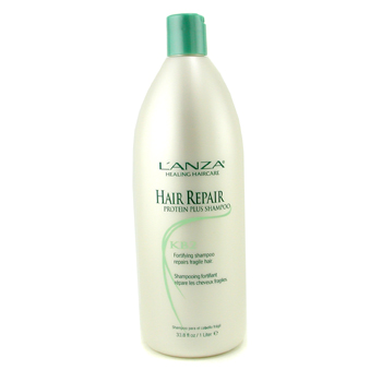 buy Lanza Hair Repair Protein Plus Shampoo 1000ml/33.8oz by Lanza skin care shop