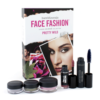 BareMinerals Face Fashion Collection: The Look Of Now Pretty Wild - Blush, Eye Color, Mascara, Lipcolor