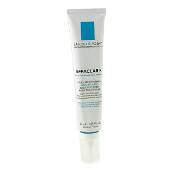 buy La Roche Posay Effaclar K Daily Renovating Anti-Relapse Salicylic Acid Acne Treatment 30ml/1oz skin care shop