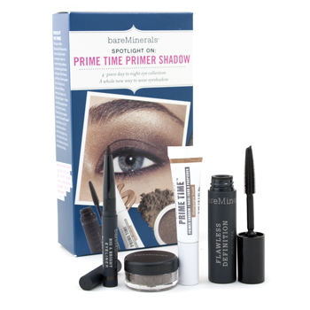 buy Bare Escentuals BareMinerals Spotlight On: Prime Timer Primer Shadow Kit 4pcs by Bare Escentuals skin care shop