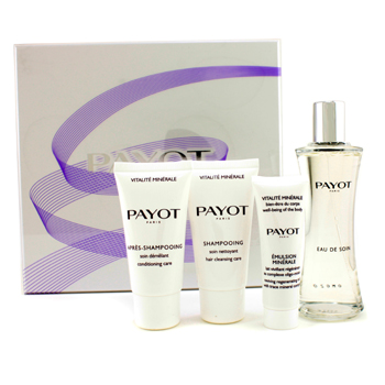 Payot VIM Christmas Set: Eau De Soin, Shampoo, Conditioning Care, Regenerating Milk