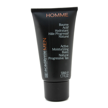 Para a pele do homem, Academie, Acadmie Autobronzeador Active Moisturizing Balm Natural Progressive Tan 50ml/1.7oz