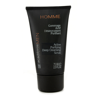 Para a pele do homem, Academie, Acadmie Exfoliante Men Active Purifying Deep Cleansing  75ml/2.5oz