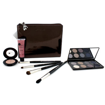 buy GloMinerals Luminous Kit (1xBlush Duo 1xAlloy Eye Collection 1xGloLiquid Lips 4xBrush) 7pcs+1Bag by GloMinerals skin care shop