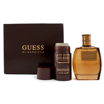 buy Guess Guess By Marciano Coffret: Eau De Toilette Spray 100ml/3.4oz + Deodorant Stick 71g/2.5oz 2pcs  skin care shop