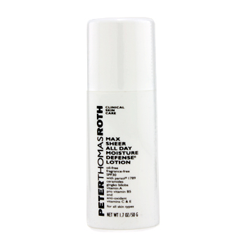 buy Peter Thomas Roth Max Sheer All Day Moisture Defense Lotion SPF 30 (Exp. Date 09/2012) 50g/1.7oz  skin care shop