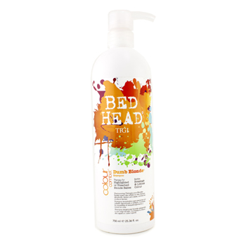 buy Tigi Bed Head Colour Combat Dumb Blonde Shampoo 750ml/25.36oz by Tigi skin care shop