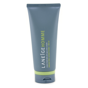 buy Laneige Homme Sebum Free Scrub Foam 180ml/6oz  skin care shop
