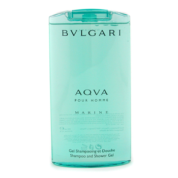 buy Bvlgari Aqva Pour Homme Marine Shampoo & Shower Gel 200ml/6.7oz by Bvlgari skin care shop