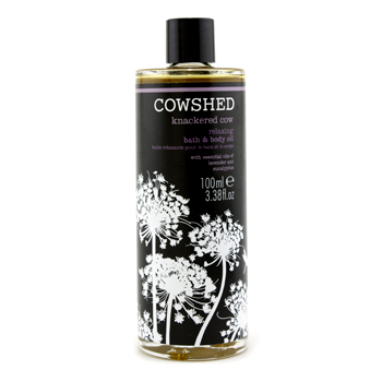 buy Cowshed Knackered Cow Relaxing Bath & Body Oil 100ml/3.38oz skin care shop