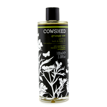 buy Cowshed Grumpy Cow Uplifting Bath & Body Oil 100ml/3.38oz skin care shop