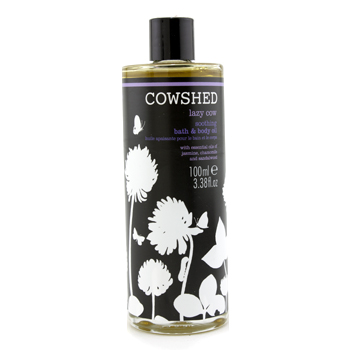 buy Cowshed Lazy Cow Soothing Bath & Body Oil 100ml/3.38oz skin care shop