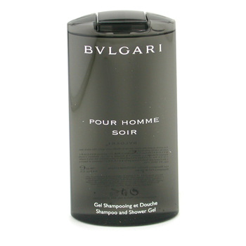 buy Bvlgari Pour Homme Soir Shampoo & Shower Gel 200ml/6.8oz by Bvlgari skin care shop