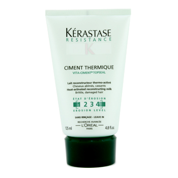 buy Kerastase Resistance Ciment Thermique - Heat-Activated Reconstructor Milk (For Brittle  Damaged Hair) 125ml/4.8oz by Kerastase skin care shop