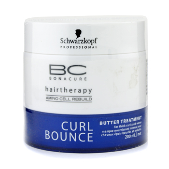 buy Schwarzkopf BC Curl Bounce Butter Treatment (For Thick Curls & Waves) 200ml/6.7oz by Schwarzkopf skin care shop