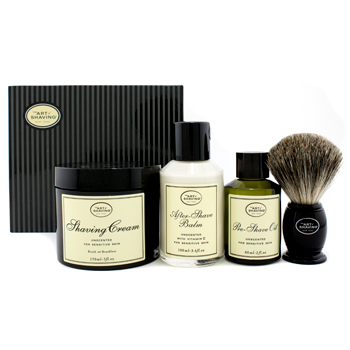 buy The Art Of Shaving The 4 Elements Of The Perfect Shave - Unscented (New Packaging) (Pre Shave Oil + Shave Crm + A/S Balm + Brush) 4pcs  skin care shop
