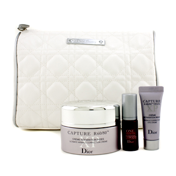buy Christian Dior Capture R60/80 XP Set: Correction Creme 50ml + Eye Creme 7ml + Super Serum 5ml + Bag 3pcs+1bag skin care shop