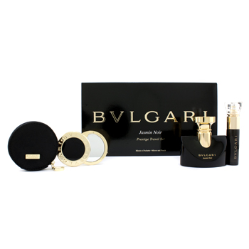 buy Bvlgari Jasmin Noir Prestige Travel Coffret: Eau De Parfum 30ml/1oz + Eau De Parfum 10ml/0.34oz + Mirror + Pouch 3pcs+1pouch  skin care shop