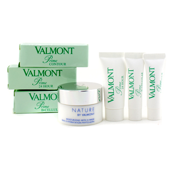 buy Valmont Travelling Set: Mask 15ml + Prime B-Cellular 3ml + Prime 24 hour 5ml + Prime Contour 3ml 4pcs  skin care shop