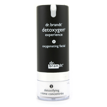 buy Dr. Brandt Detoxygen Experience: Oxygenating Facial 1.7oz + Detoxifying Creme Concentrate 1oz 50g+30g  skin care shop