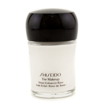 Maquiagens, Shiseido, Shiseido Base The Makeup Sheer Enhancer SPF15 - Opalescent White (Fora da caixa) 30ml/1oz