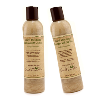 buy Carol's Daughter Khoret Amen Herbal Shampoo - Dry & Damaged Hair Duo Pack (Bottle Slightly Dented) 2x236ml/8oz by Carol's Daughter skin care shop